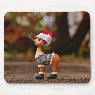 Mousepad Decorações da rena - rena do Natal
