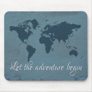 Mousepad Deixe a aventura começar