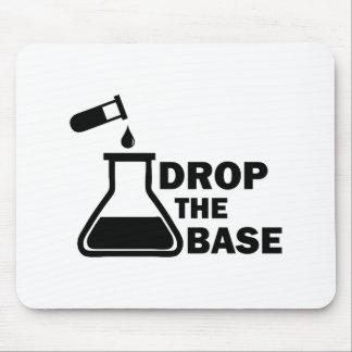 Mousepad Deixe cair a base