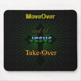 Mousepad Deixe Jesus tomar sobre
