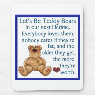 Mousepad Deixe-nos ser ursos de ursinho