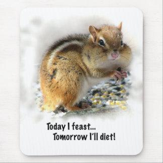 Mousepad Deleitando o Chipmunk