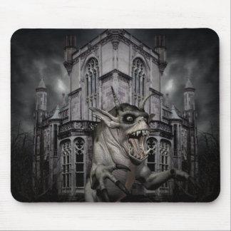 Mousepad Demónio assustador do Dia das Bruxas