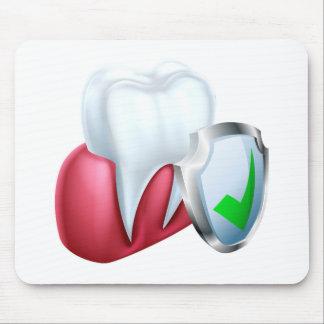 Mousepad Dente e goma do protetor