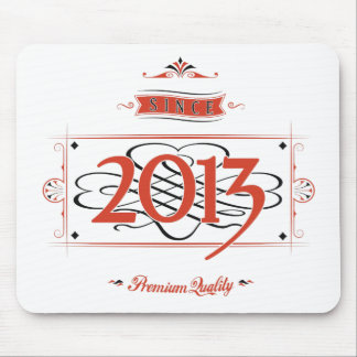 Mousepad Desde 2013 (Red&Black)