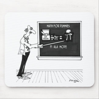 Mousepad Desenhos animados 5850 da matemática