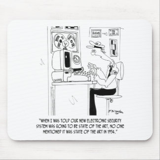 Mousepad Desenhos animados 8233 da segurança