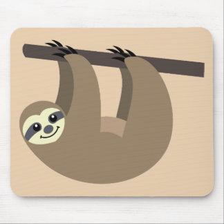 Mousepad Desenhos animados bonitos da preguiça