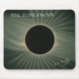 Mousepad Desenhos de Trouvelot - eclipse total do Sun