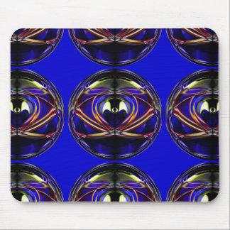 Mousepad Design artístico abstrato da Alienígena-Eu que