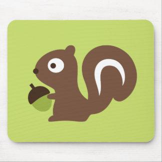 Mousepad Design bonito do esquilo do bebê