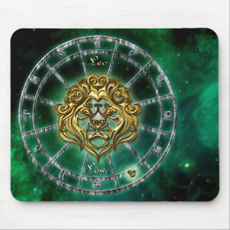 Mousepad Design da astrologia do zodíaco de Leo