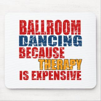 Mousepad Design da dança de salão de baile