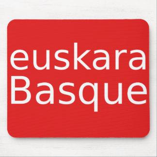 Mousepad Design da língua Basque