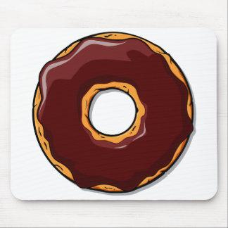 Mousepad Design da rosquinha do chocolate dos desenhos