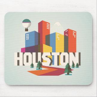 Mousepad Design de Houston, arquitectura da cidade de Texas