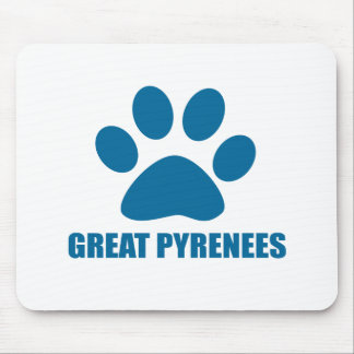 MOUSEPAD DESIGN DO CÃO DE GRANDES PYRENEES