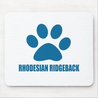 MOUSEPAD DESIGN DO CÃO DE RHODESIAN RIDGEBACK