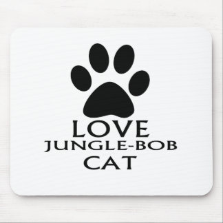 MOUSEPAD DESIGN DO CAT DO AMOR JUNGLE-BOB