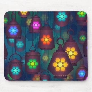 Mousepad Design do Oriente Médio das lanternas árabes