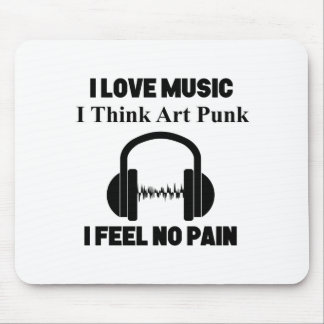 Mousepad design do punk da arte