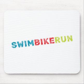 Mousepad Design do Triathlon