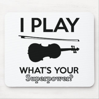 Mousepad design do violino