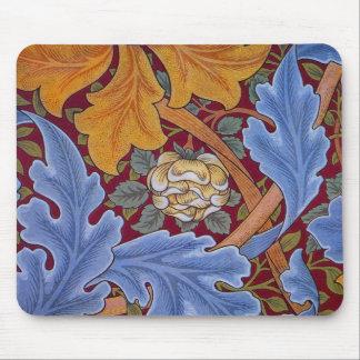 Mousepad Design floral do vintage de William Morris St