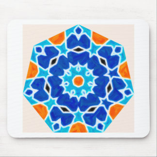 Mousepad Design oriental abstrato