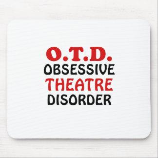 Mousepad Desordem obsessiva do teatro de OTD