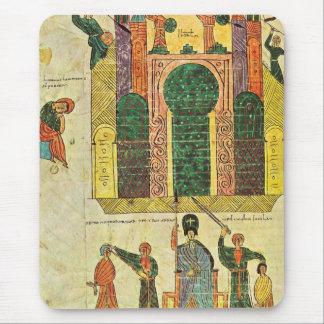 Mousepad Destruição do primeiro templo por Nebuchadnezzar
