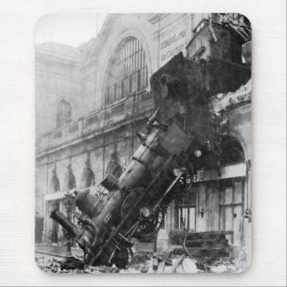 Mousepad Destruição do trem em Montparnasse 1895