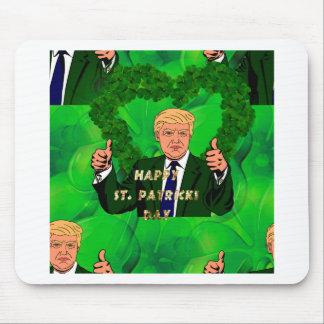 Mousepad Dia de São Patrício Donald Trump
