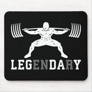 Mousepad Dia do pé - legendário - ocupa - Gym inspirado