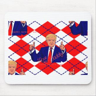Mousepad dia dos pais Donald Trump