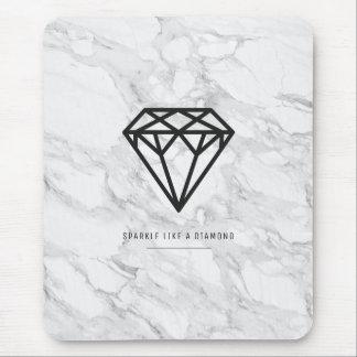 Mousepad Diamante com mármore