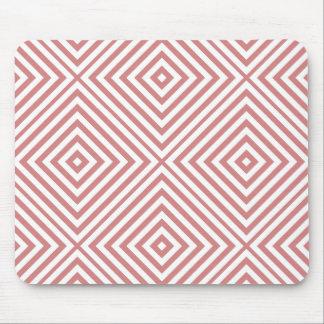 Mousepad Diamante cor-de-rosa Chevron