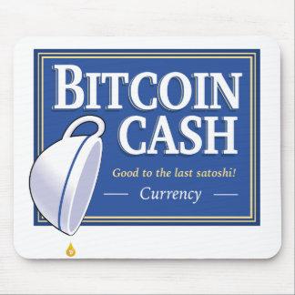 """Mousepad Dinheiro de Bitcoin """"bom ao último Satoshi"""""""