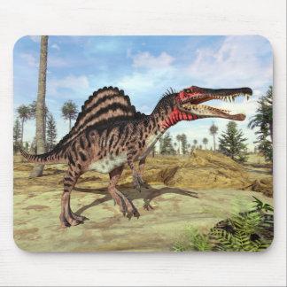 Mousepad Dinossauro cretáceo da era de Spinosaurus