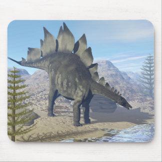 Mousepad Dinossauro do Stegosaurus - 3D rendem