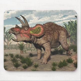 Mousepad Dinossauro do Triceratops - 3D rendem