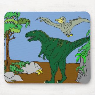 Mousepad Dinossauros