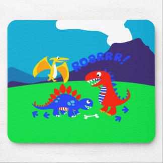 Mousepad Dinossauros bonitos