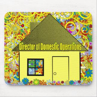 Mousepad Diretor de operações domésticas