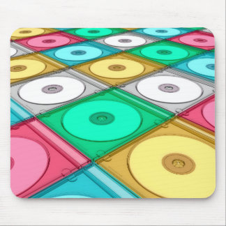 Mousepad Disco CD