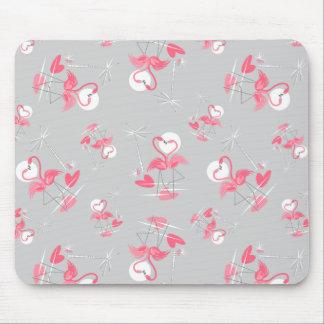 Mousepad do amor do flamingo multi horizontal