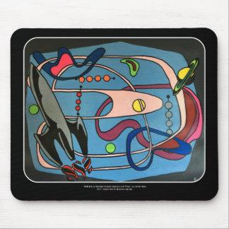 """Mousepad Do """"o espaço da modificação MidCentury é pintura"""