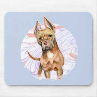 """Mousepad Do """"orelhas coelho"""" pintura da aguarela do cão de"""