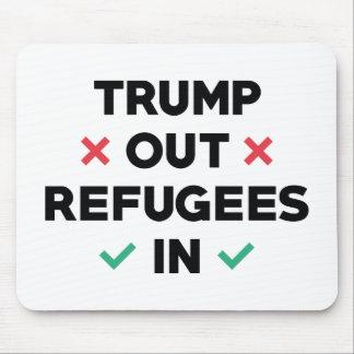 Mousepad Do trunfo refugiados para fora dentro