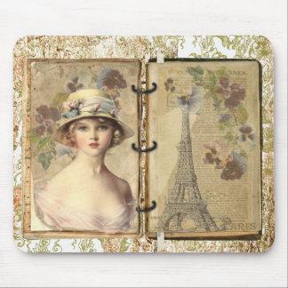 Mousepad do vintage de Paris